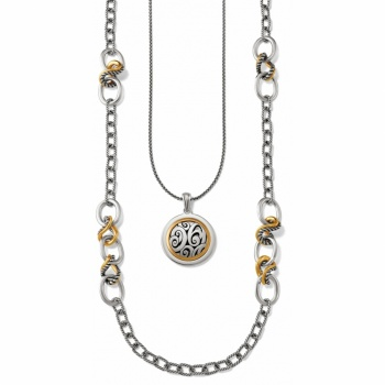 Mixed Metal Necklace Gift Set