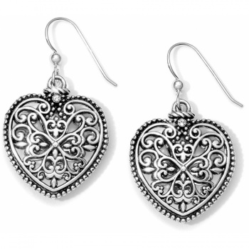 Florence Heart Florence Heart French Wire Earrings