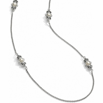 Alcazar Pearl Long Necklace