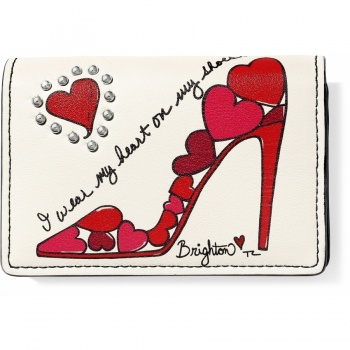 Fashionista Shoe Love Card Case
