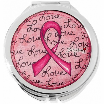 Power Of Pink Compact Mirror