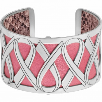 Christo Power Of Pink Cuff Bracelet