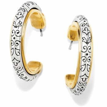 Venezia Hoop Post Earrings