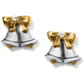 Silver Bells Mini Post Earrings