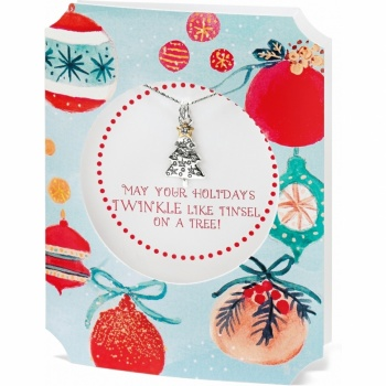 Merry & Bright Merry & Bright Twinkle Tree Necklace