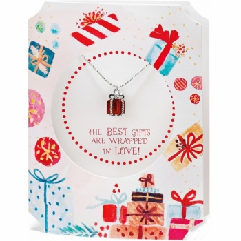 Merry & Bright Merry & Bright Christmas Present Necklace