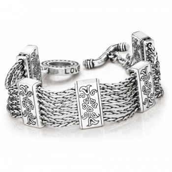 French Quarter Multi-Chain Bracelet