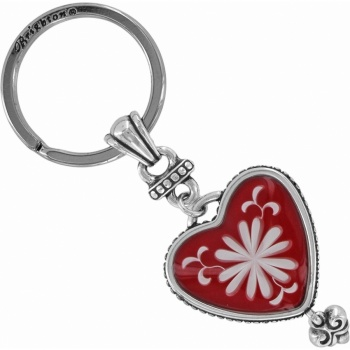 Water Lily Key Fob