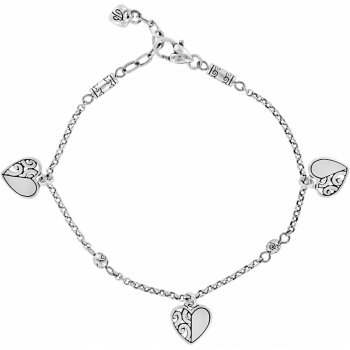 Deco Heart Anklet