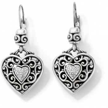 Reno Heart Reno Heart Leverback Earrings