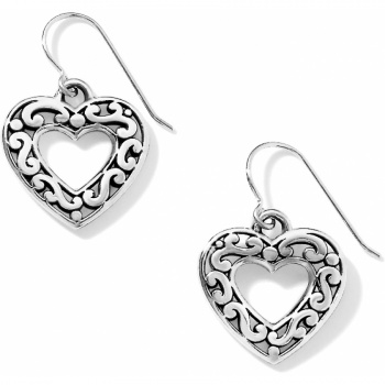 synthetic silver sterling product diamond platinum ribbon plated with jewelry earrings
