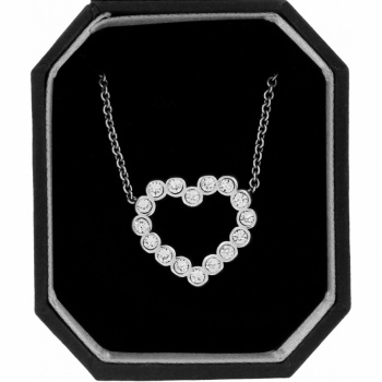 U R Loved Heart Necklace Gift Box