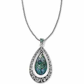 Crystal Voyage Crystal Voyage Teardrop Convertible Long Necklace