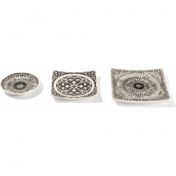 Ferrara Medallion 3 Piece Plate Set