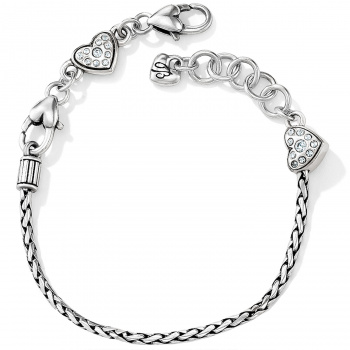ABC Heart Slide Bracelet