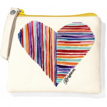 Happy Bright Hearts Small Pouch