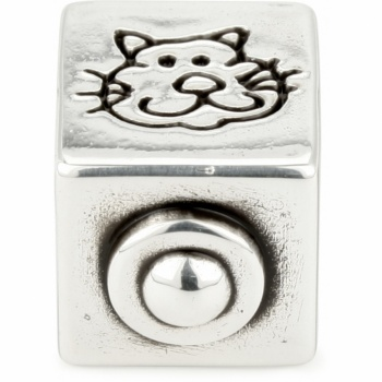ABC Cat Spacer Charm