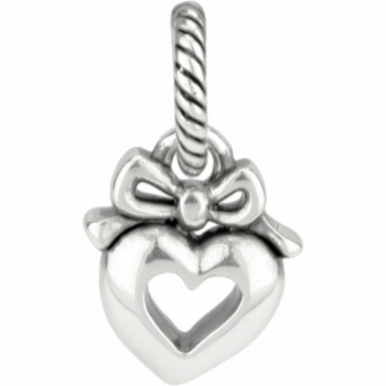 ABC Heart And Bow Charm