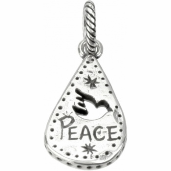 Notes ABC Notes Peace Charm