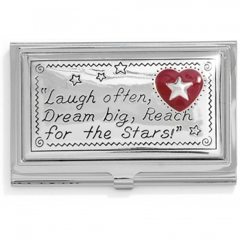 Wishing Star Joyful Heart Card Case