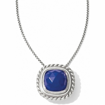 Color Clique Gem Lapis Necklace Set