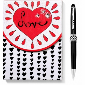 Love Notepad Pen Set