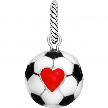 Sports Soccer Ball Charm