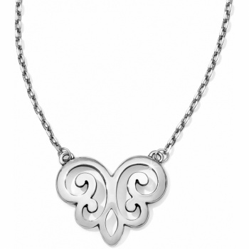 Geneva Heart Short Necklace