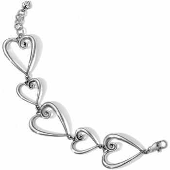 Whimsical Heart Whimsical Heart Link Bracelet
