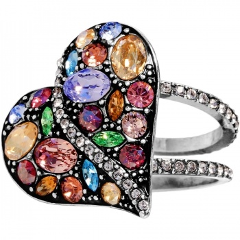 Trust Your Journey Heart Ring