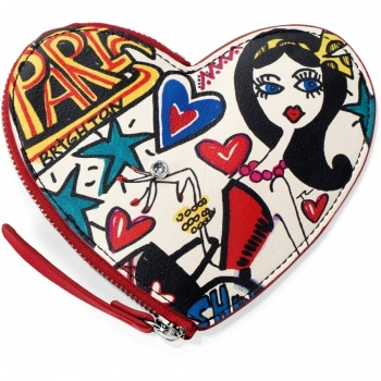 Fashionista Graffiti Coin Purse