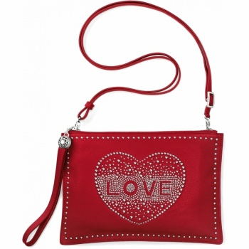 Pretty Glam Love Stud Convertible Pouch