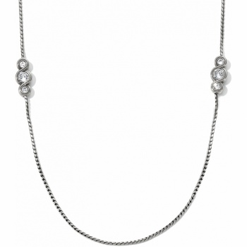 Infinity Sparkle Infinity Sparkle Long Necklace