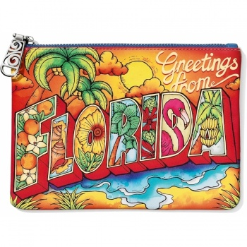 First Class Florida Travel Pouch