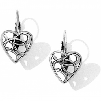 Limitless Heart Leverback Earrings