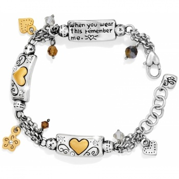Remember My Heart Remember Your Heart Bracelet