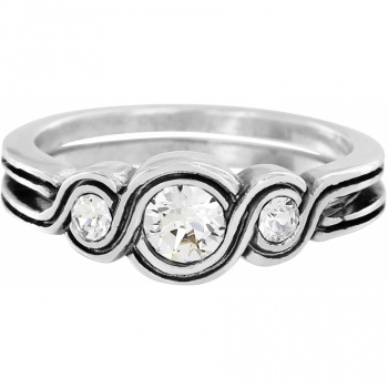 Infinity Sparkle Ring
