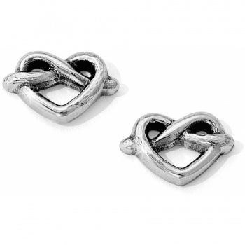 Heart Loop Post Earrings