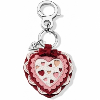 Dear Heart Handbag Fob