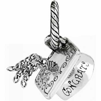 ABC Graduation Cap Charm