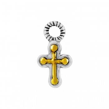 Earring Charms Mini Cross Charm