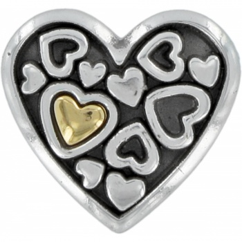 Floating Hearts Magnet