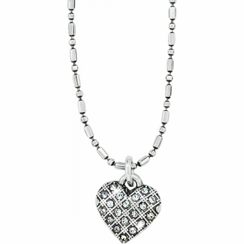 Diamond Diamond Heart Necklace
