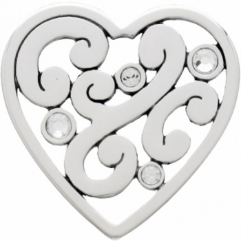 Abc Contempo Heart Earrings Disc