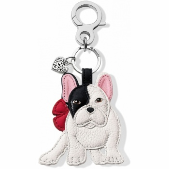 Menagerie Billie Bulldog Handbag Fob