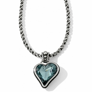 Bibi Heart Bibi Heart Gem Reversible Necklace