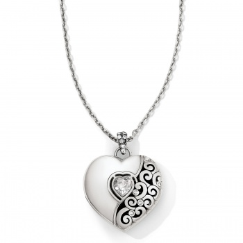 Ecstatic Heart Locket Necklace