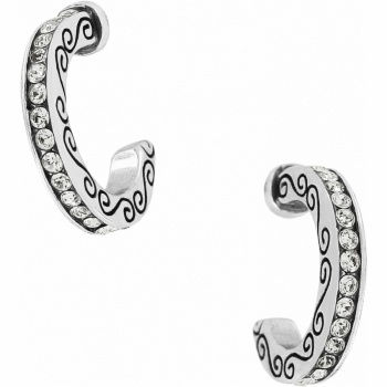 Secret Of Love Mini Hoop Earrings