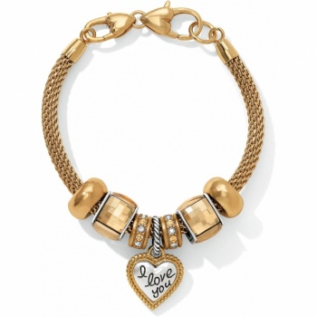 Go For the Gold Charm Bracelet