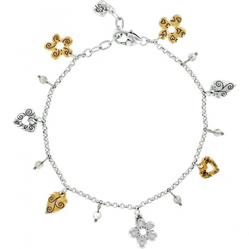 Golden Poppy Anklet